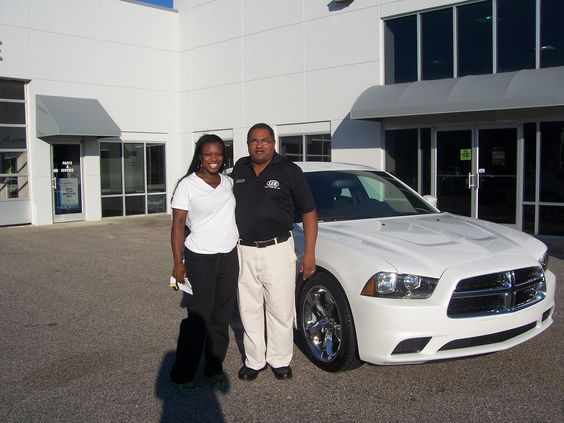 Reniqua from Wilson NC took the advice of her friend and stopped by Lee CDJR to buy this 2014 Dodge Charger. Thank you Reniqua for your business. Her salesman is Tony Oxendine.