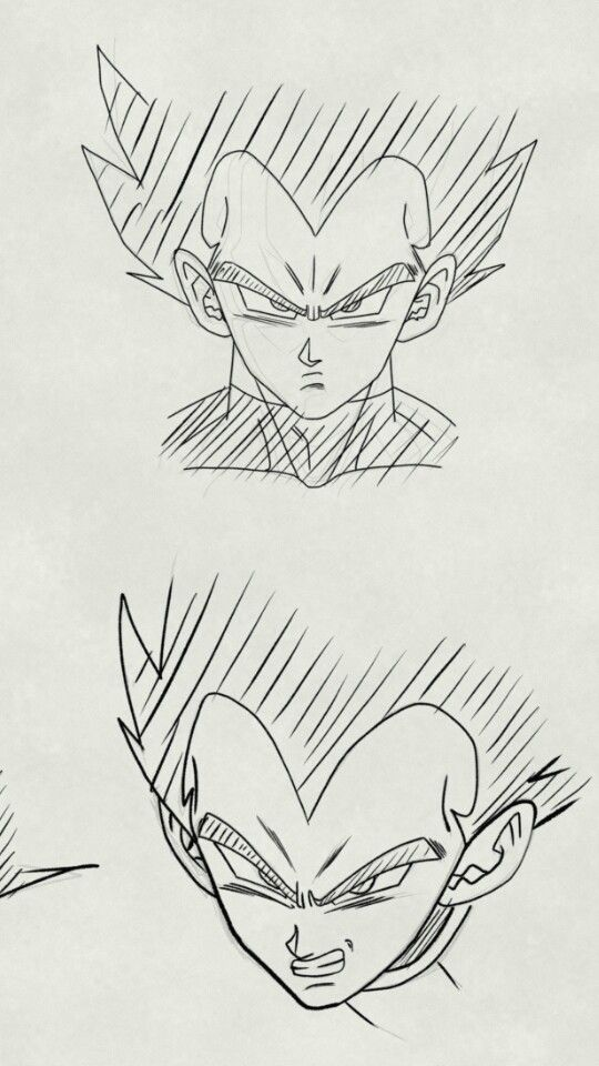 Vegeta Style Yamamuro And Toyotaro Dragon Ball Super Art Ball Drawing Sketches