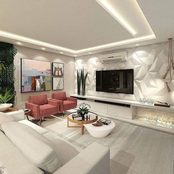 Tips decor phòng đẹp sử dụng miếng xốp dán tường 1