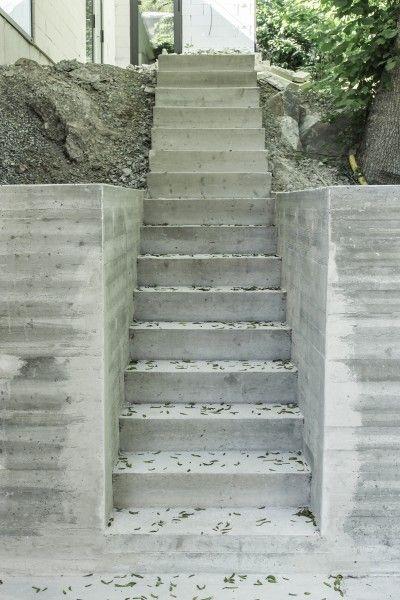 Trädgård trädgård betong : Betong med struktur. Möjligt element i trädgÃ¥rd? | hus - trappa ...