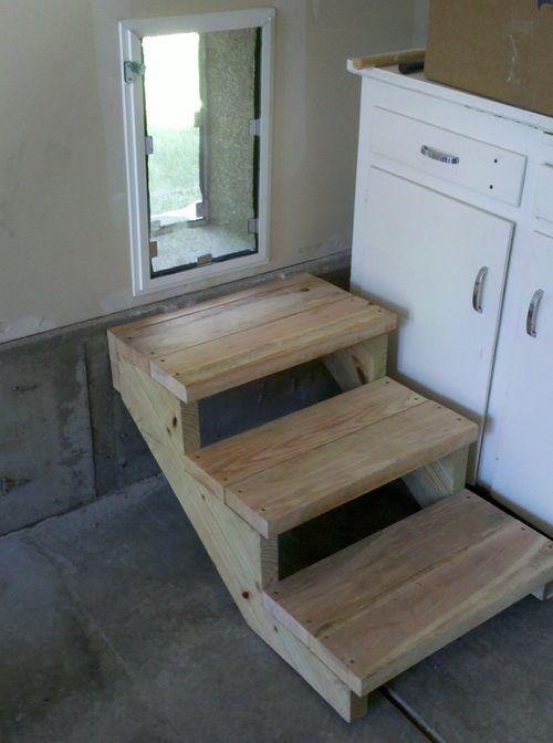 Steps To Dog Door...maybe Something Like This Would Work Onto The Patio  Thru The Window Or Wall... | Dogs | Pinterest | Doors, Dog And Pet Door