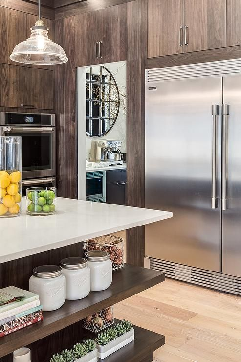 Stunning Kitchen Design Features A Frigidaire 64 Built In All