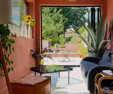 Ilaria Floor Lamp Triple Multicolour Pink Brass Made Com In 2021 Made Com Corner Sofa Small Sofa Bed