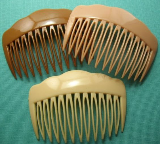 Hair Combs..these held my tightly permed hair up perfectly: Permed Hair, 70S, Hairs, Combs Mom, Hair Combs
