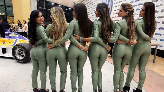 Grid girls - beldades dos autódromos ~ Juarez Sports