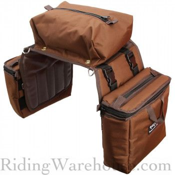 Equi Tech Large Detachable Insulated Cantle Saddlebag Saddle Bags Horse Saddle Bags Horse S Neck