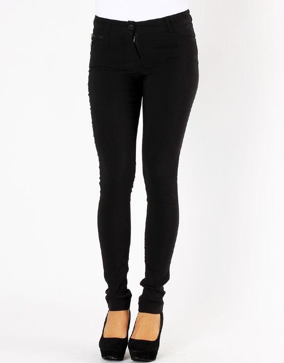 black skinny jeans #black heels   Pants for Women   Pinterest ...