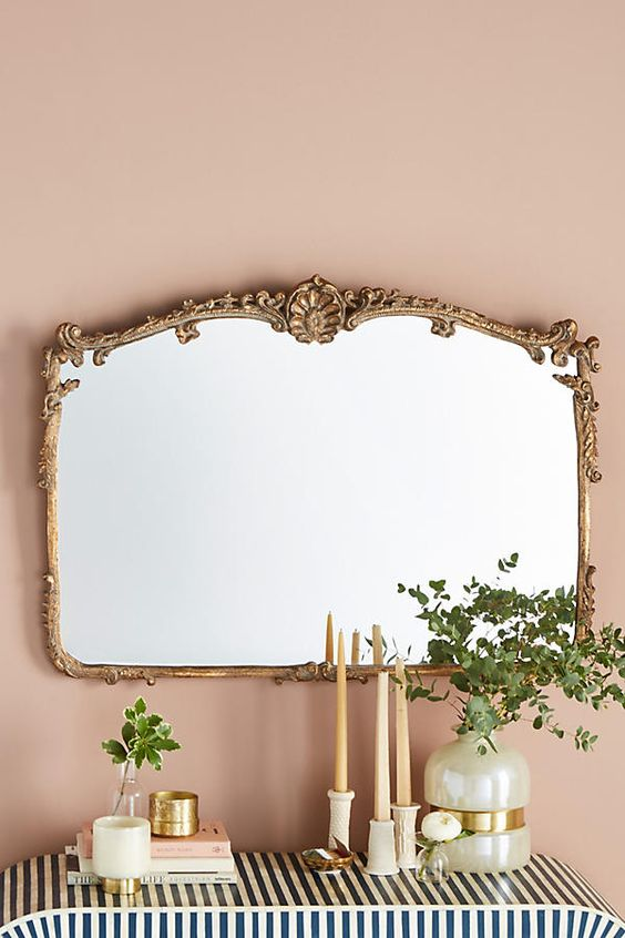 Victorian homes interior: Josephine mirror