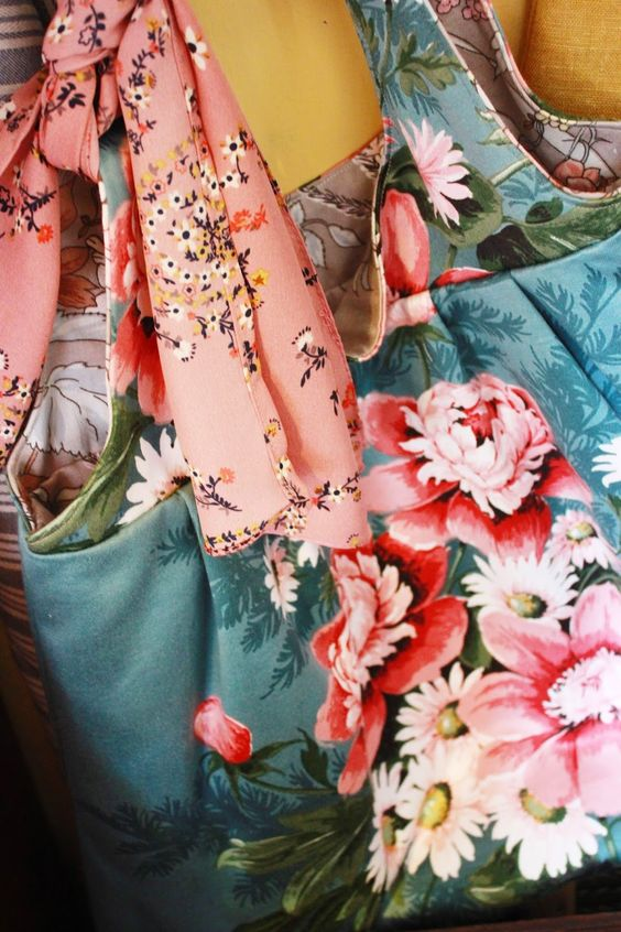 the linen garden: Bags of Floral Love - Collection 2