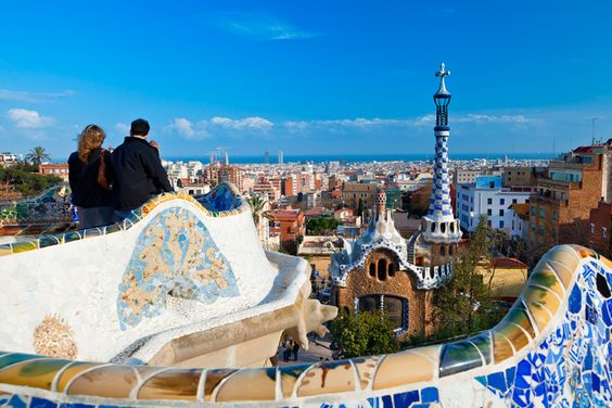 Park Güell  in Barcelona. Image by Sylvain Sonnet / Photographer's Choice / Getty Images.