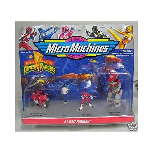 Machines Mighty Morphin Power Rangers #1 Red Ranger Toys & Games
