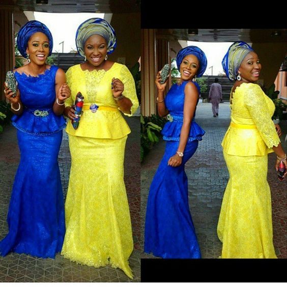Check Out Our Latest Aso Ebi Styles Colorful Eye