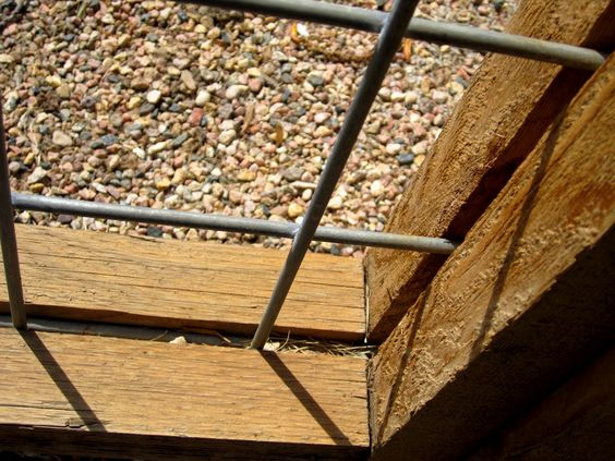 hog panel fencing - Google Search, it looks like you attach the hog panel to the fence posts and then trim it out.