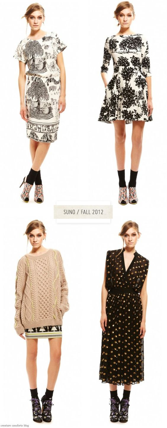 Suno - Fall 2012Collection - Upper left