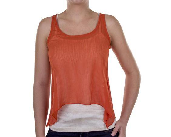 Blusa Thinner Naranja