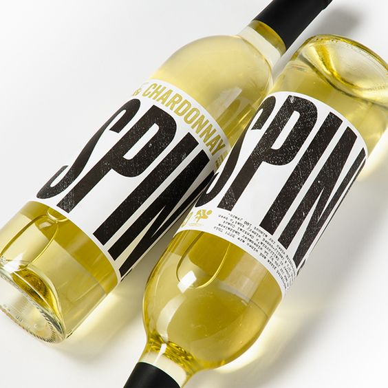 SPIN! Wine on Packaging Design Served