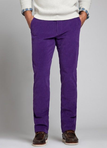 Bonobos Acai Purple Straight Leg Midweight Corduroy Pants | Items ...