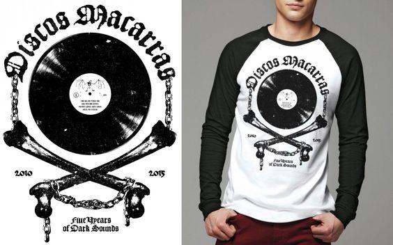 DISCOS MACARRAS - 5 Years... - Longsleeve Shirt