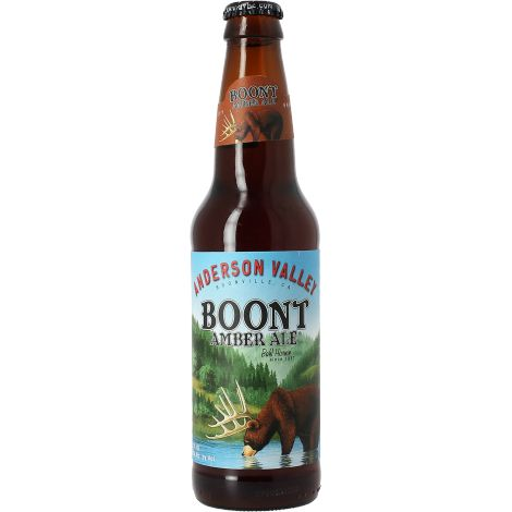 Bia Anderson Valley Boont Amber Ale 5,8% - Chai 330ml