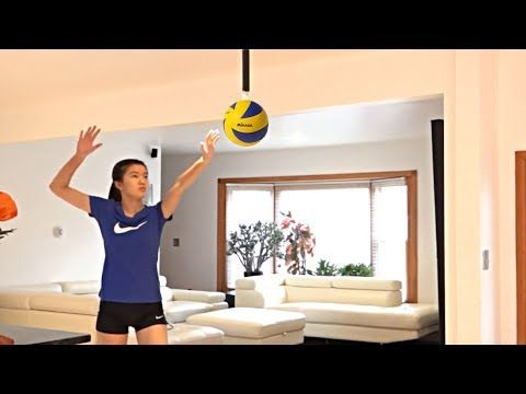 How To Spike A Volleyball Spike Trainings Best Volleyball Trainings Hd Youtube Volleyball Training Volleyball Train