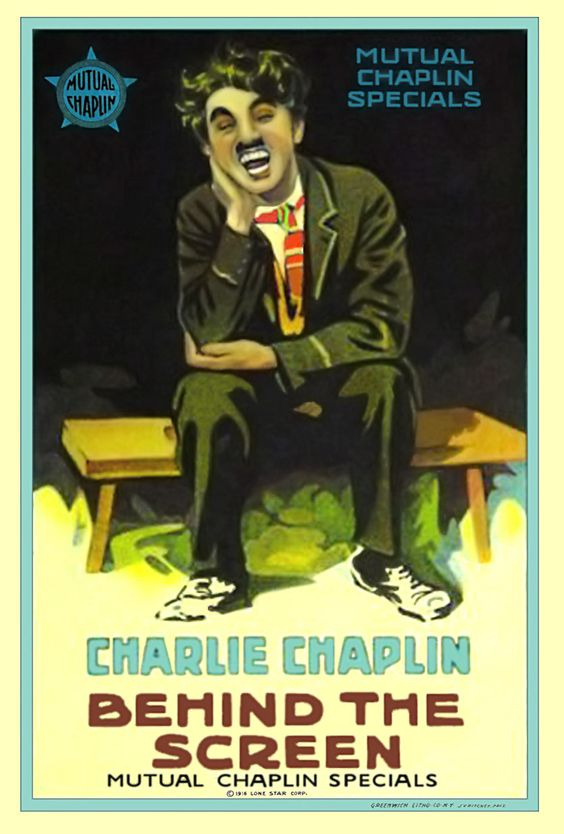 CHARLOT TRAMOYISTA DE CINE (1916)