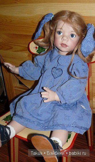 Джиана - голубоглазая нежность. Кукла Elisabeth Lindner / Куклы Gotz - коллекционные и игровые Готц / Бэйбики. Куклы фото. Одежда для кукол