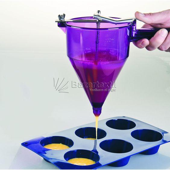 Dosificador Con Soporte 3 Boquillas Ibili - Bazartextil.com