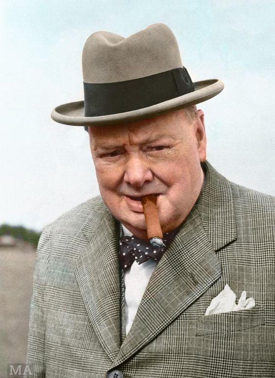 Winston Churchill - Reino Unido - Nobel Literature 1953