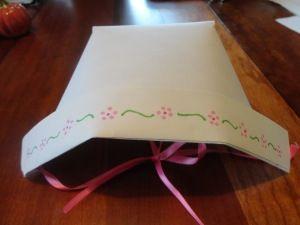 paper bonnet dress up craft