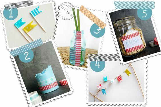 5 (+1) DIY-Ideen mit Masking Tape