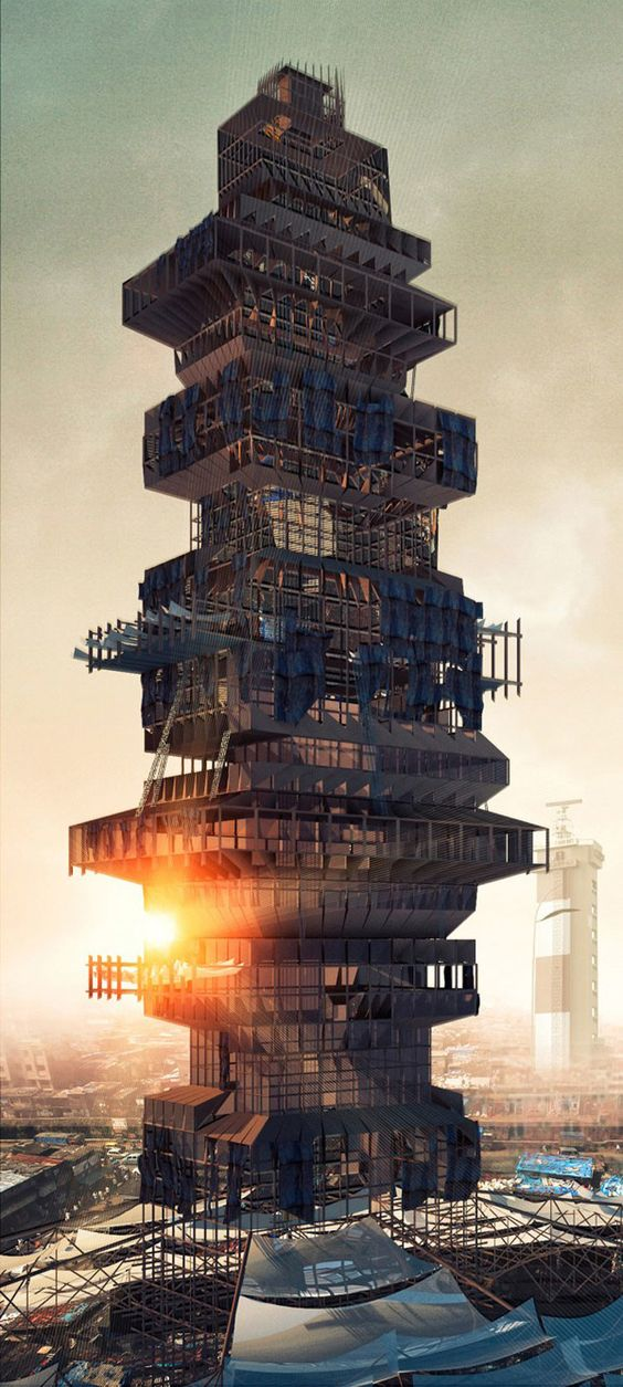 Fotos: Así es la ciberciudad rusa que anticipa el futuro de la arquitectura