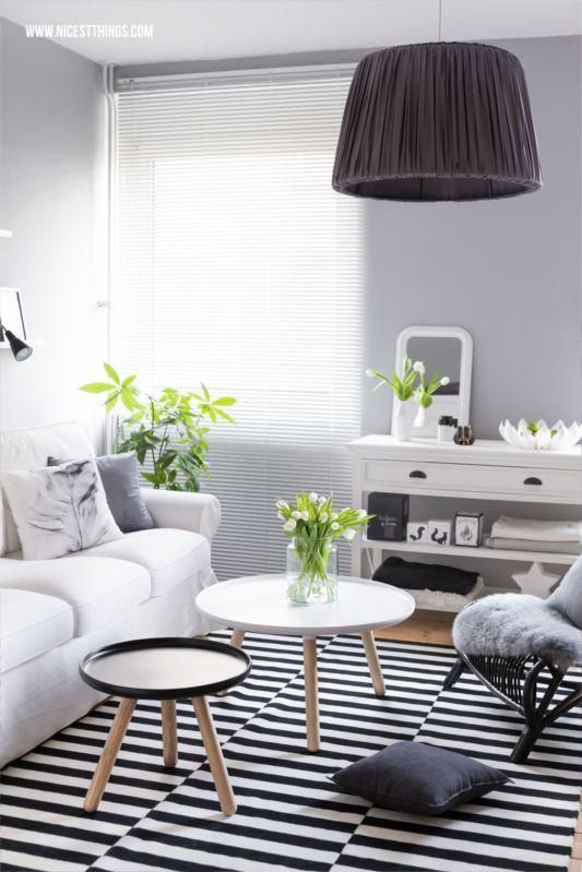 Wohnung in grau weiß