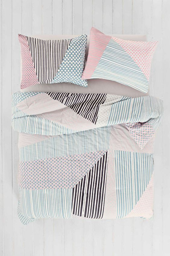 Assembly Home Helmi Geo Comforter   Urban Outfitters