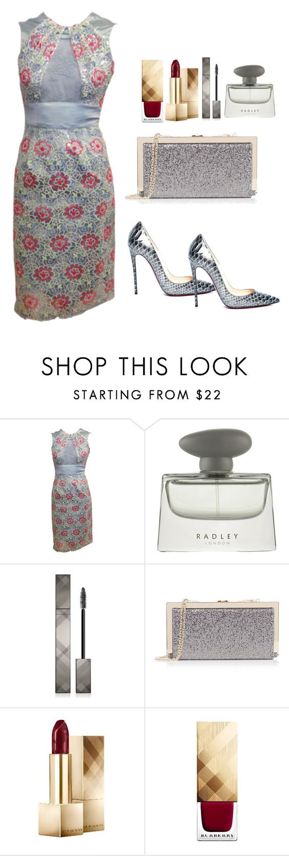 """SPRING..... FLORAL !!!"" by betty-sanga ❤ liked on Polyvore featuring Radley, Burberry and Oasis"