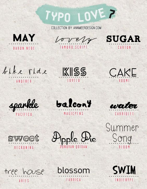 * Ann.meer: Lovely Fonts # 7  ~~ {15 Free fonts w/ easy download links}