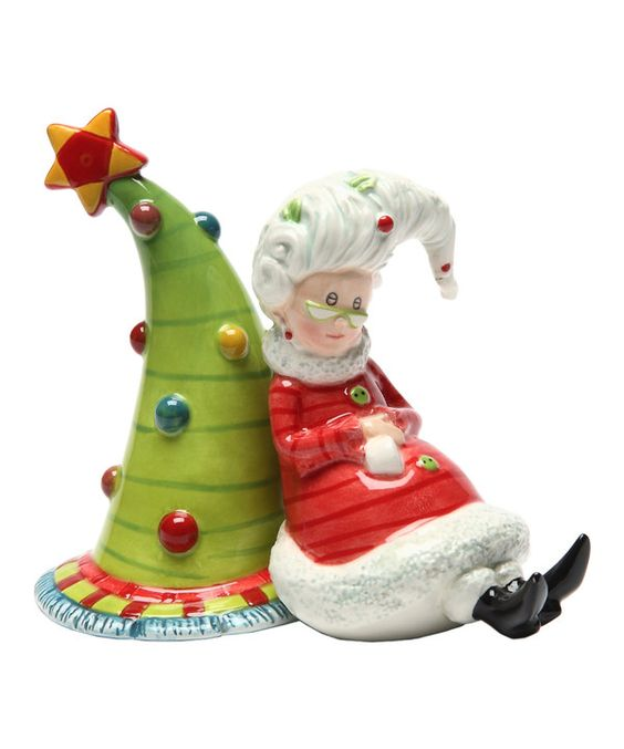 Look at this Waiting for Santa Salt & Pepper Shakers on #zulily today!