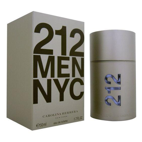 212 MEN Cologne by Carolina Herrera 1.7 oz edt Eau de Toilette Spray NIB SEALED #CarolinaHerrera