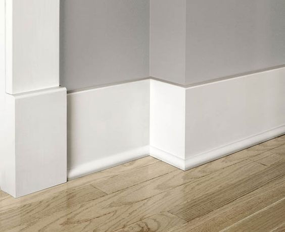 17 Best Images About Baseboard Molding Flats Craftsman