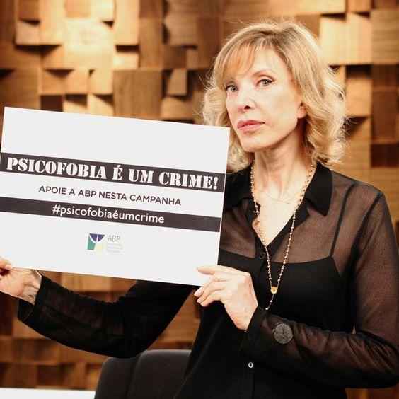 Marília Gabriela apoia campanha da Associação Brasileira de Psiquiatria (Foto: Divulgação) - http://epoca.globo.com/colunas-e-blogs/bruno-astuto/noticia/2014/10/bmarilia-gabrielab-apoia-campanha-da-associacao-brasileira-de-psiquiatria.html