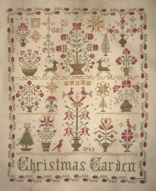 Gardens beautiful and grandmothers on pinterest for Christmas garden blackbird designs
