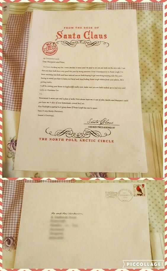 Adult Santa Letters 91