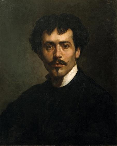 João Marques da Silva Oliveira - 1853-1927 - self-portrait 1876
