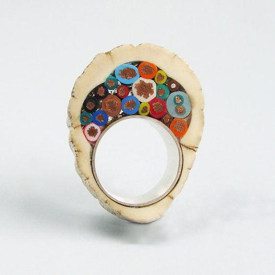 MILFLORES VII Handmade Ring - Gustavo Paradiso