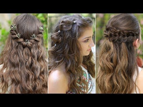 Didacticiel Video Sur Les Coiffures Easy Boho Prom Boho Coiffures Didacticiel Easy Frisuren Les Prom Sur Vid Hair Styles Up Hairstyles Half Up Hair