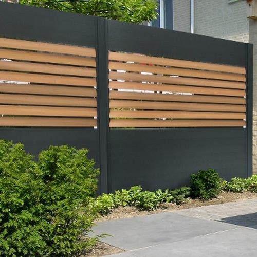 5 Idees De Cloture En Aluminium Pour Un Jardin Plus Sur Cloture