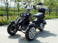 49cc scooters, 50cc scooters, 150cc scooters to 400cc Gas Scooters for sale , Street Legal Mopeds, Motorcycles, Go Karts, 4 Wheelers, Utility Vehicles, - DongFang (50CC :: 3 Wheel Trike | Motor Scooter - FREE SHIPPING ( DF 12568 )