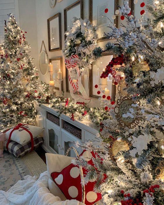 All Those Christmas Lights Rustikale Weihnachten