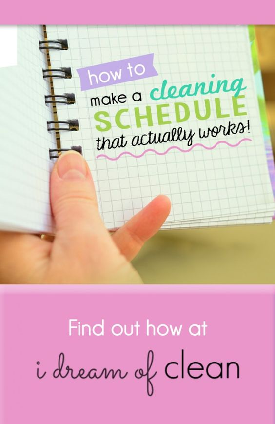 Cleaning schedules don't work. That is, unless you have one that is specifically designed for YOU.    This blog post gives you step-by-step instructions to create a cleaning schedule that works for you, your family, your lifestyle, and your cleaning preferences.