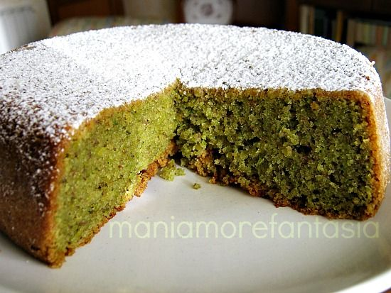 Cake Design Ricette Giallo Zafferano : Pistachio cake, Pistachios and Italian foods on Pinterest