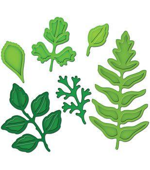 Spellbinders Shapeabilities Dies Foliage: